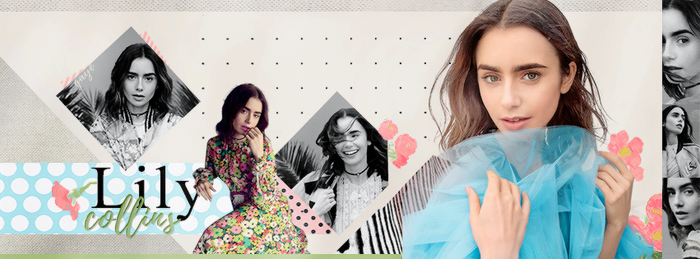 Lily Collins by GayeBieber94