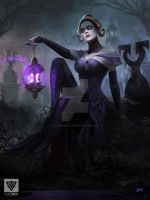Liliana Halo of Bolas by GunshipRevolution