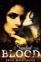 Paranormal Erotic Ebook Cover: Sealed with Blood by Dafeenah
