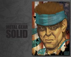 Solid Snake Eyes by EZG