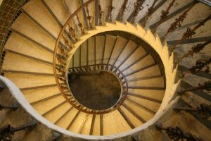 Winding Staircase by TOTGStock