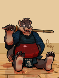 Paw Day: Moritaka by benj24