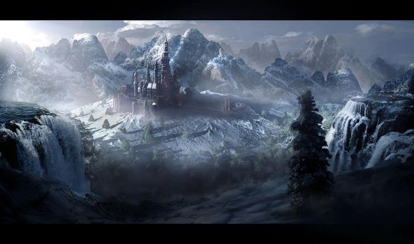 Castle Snow Valley by rich35211