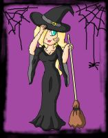 rosalina witch by ninpeachlover