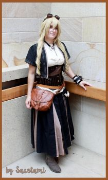 remake ~ steampunk seamstress by Safiriel