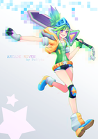 Arcade Riven by Puffyko