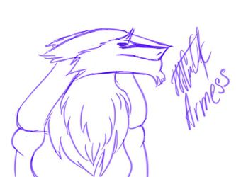 Armess Sergal Animation-Sketch by ColdShedow