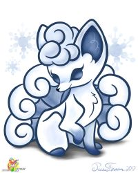 Snowflake the Vulpix by Stacona