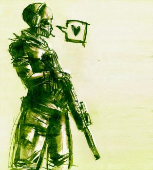 MW2: Ghost by Red-Revolver