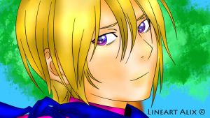 Color-Yato-gami lineart by Alix89 by Uhagsda