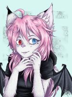 contest entry - kitten kitsune by Zwelx