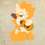 Pear Butter Painting by AuroraOokamisan12