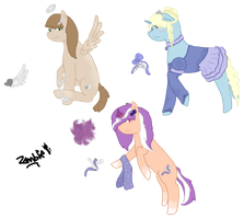 Pony Adopts - Closed by ZombieKitteh