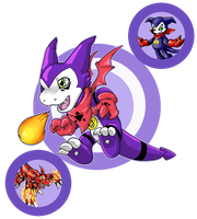 Digimon Fusion 4: ADOPT [Closed] by KyubeyGirl