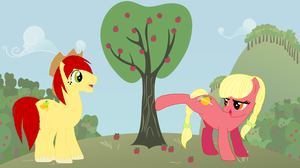 Applejack's Parents, with Bios by Regreme
