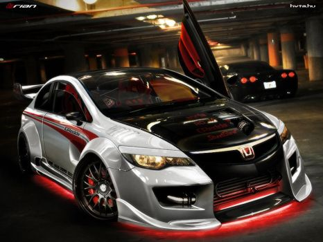 Honda Civic Type-R by brianspilner