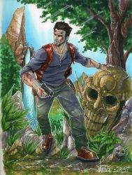 Uncharted Nathan Drake by markerguru
