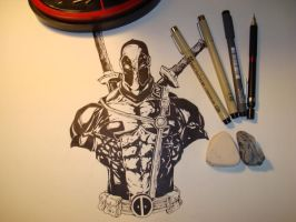 another deadpool by joryX
