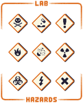 Hazard Icons by HuntersAndPrey