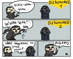 dishonored 2, doodles 27 by Ayej