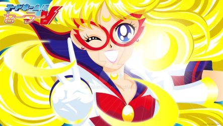 Sailor V - anime version 2 by mia1888