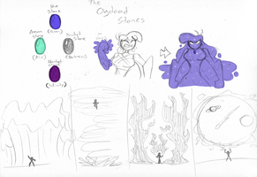 New Donna Idea - The Ogdoad Stones by DracoDragite
