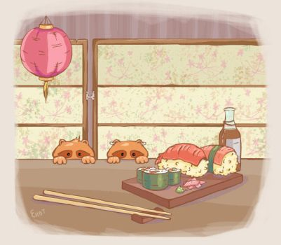 Sushi _lovers by Hagalaz