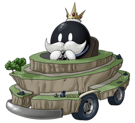 King Bob-Omb by BadProblems