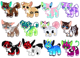 +ADOPTS!+ PUPPERS (5/12 OPEN) by IMonsterDrool