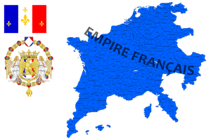 French Empire (mapping) by DimLordofFox