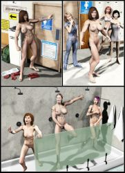Silent Muscle Giantess Comic 05 by Stone3D