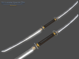 Double-Bladed Katana by InsanitySorrow