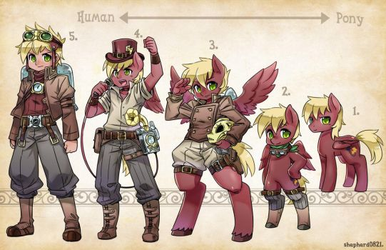 NeoStrike - 'OC Types' From Pony to Human Again by TheNeoStrike
