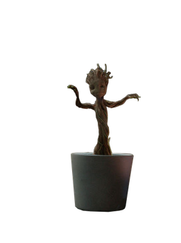 Baby Groot Render by ArkhamNatic