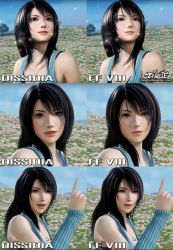 Rinoa Heartilly Dissidia VS Final Fantasy VIII by Zellphie