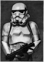 Storm Trooper (Graphite) by mchurchill1982
