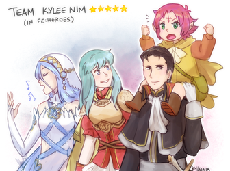 FE Heroes: The squad by ky-nim