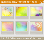 Txt Set 20: Afternoon Meadow by Ruthenia-Alba