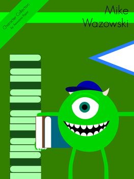 Character Collection #39 - Mike Wazowski by AwesomePaper