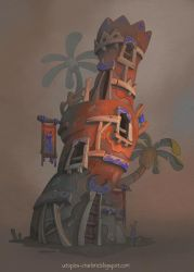 Sunset Tower by Catell-Ruz