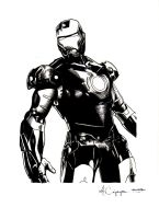 Iron Man Ink by ncajayon
