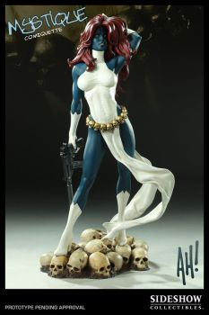 AH Mystique Comiquette Color by TKMillerSculpt