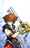 Sora - The Hero of Light by TheDeviantArchitect