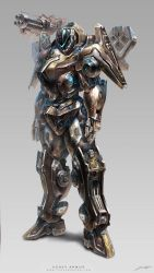 Project D-Heavy Armor M by yuchenghong