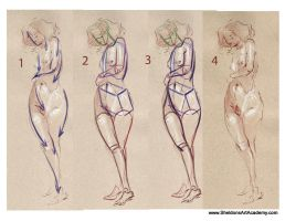Tutorial - Figure Drawing 02 by sheldonsartacademy