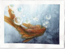 The Bottom of the Ocean by KimAmI