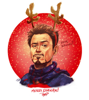Merry Starkmas by thenizu