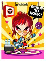 Ready to Rock by tancleon