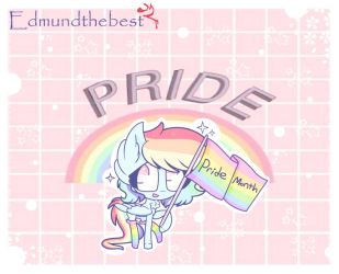Pride Month Boi by edmundthebest
