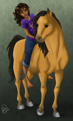 Hazel and Arion by juliajm15